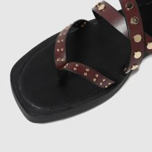 schuh Tale Studded Strappy Sandal,3 of 4
