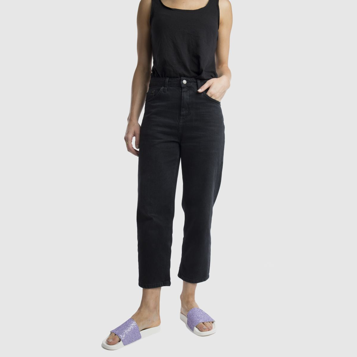Damen Blaulila Sandalen schuh Proper Boss Slider Sandalen Blaulila | schuh Gute Qualität beliebte Schuhe 8465e3