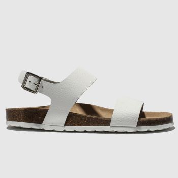 Red Or Dead White Viscount Ii Womens Sandals