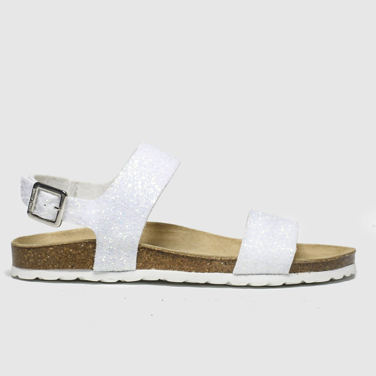 Red Or Dead White Viscount Ii Sandals