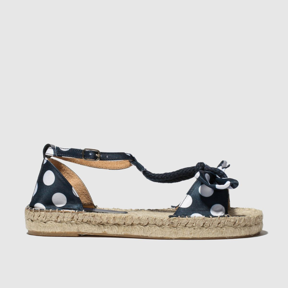 Red Or Dead Navy & White Reagan Sandals