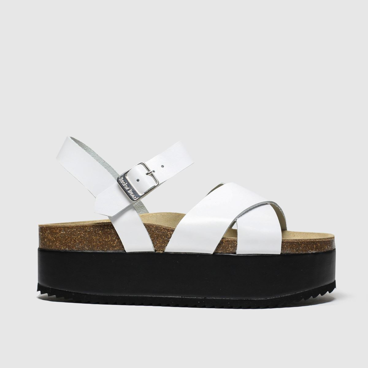 Red Or Dead Red Or Dead White Hacienda Sandals