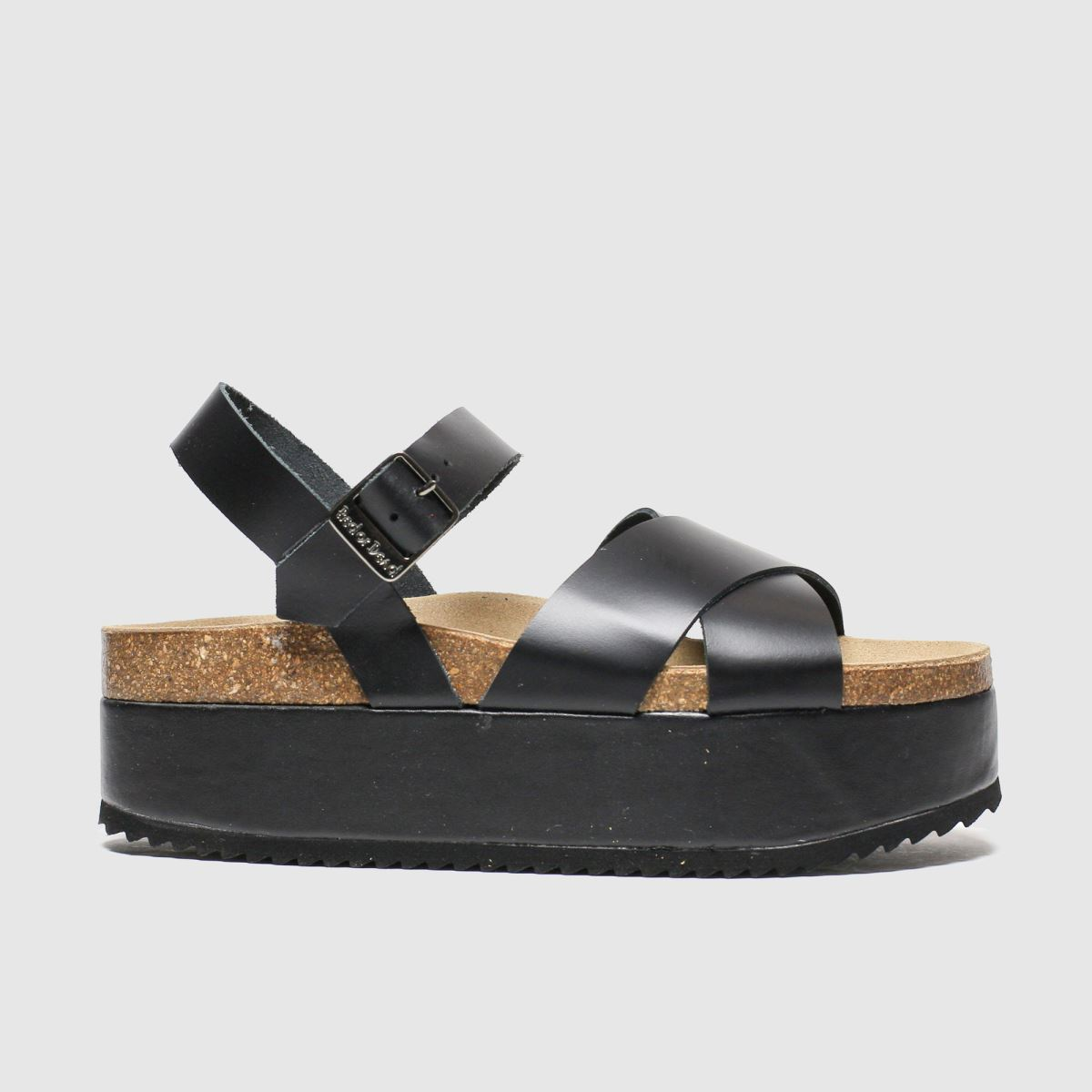 Red Or Dead Red Or Dead Black Hacienda Sandals