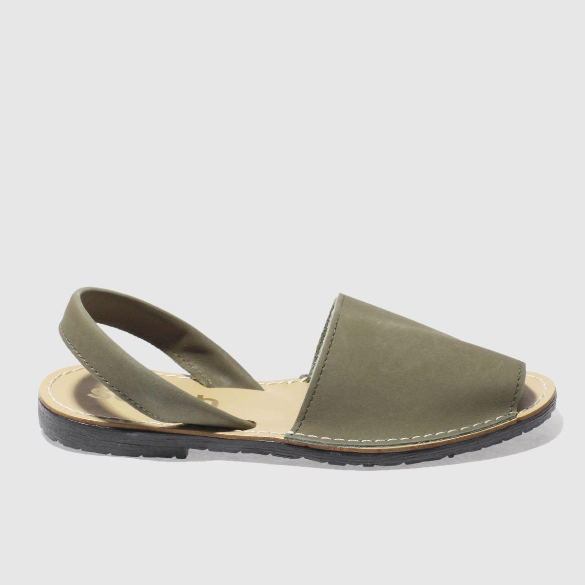 05e333a2c2625 Schuh Khaki Barcelona Sandals