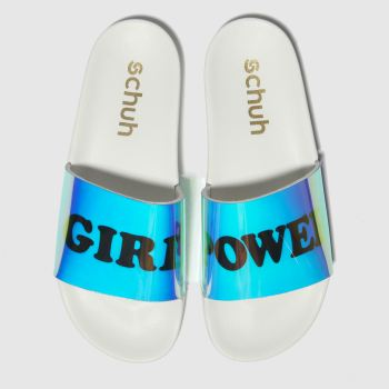 Schuh Blue Girl Power Womens Sandals
