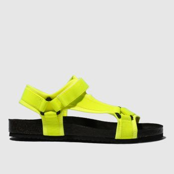 Schuh Yellow Motivate Sandals
