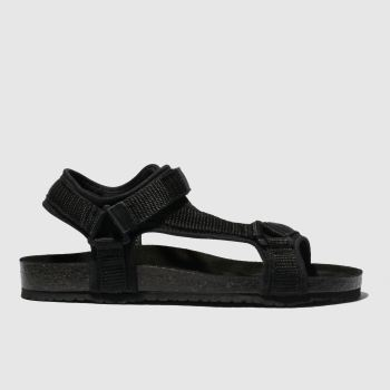 Schuh Black Motivate Womens Sandals