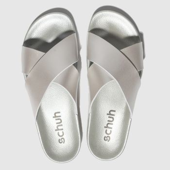 Schuh Silver Crossword Womens Sandals