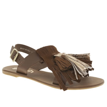 Schuh Tan Sunset Womens Sandals