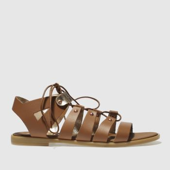 Schuh Tan Happy Days Womens Sandals