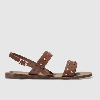 Schuh Tan Zante Womens Sandals