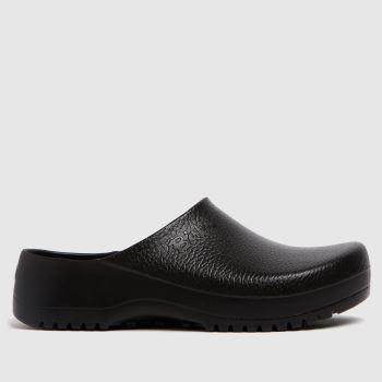 BIRKENSTOCK Black Super Birki Clog Womens Sandals