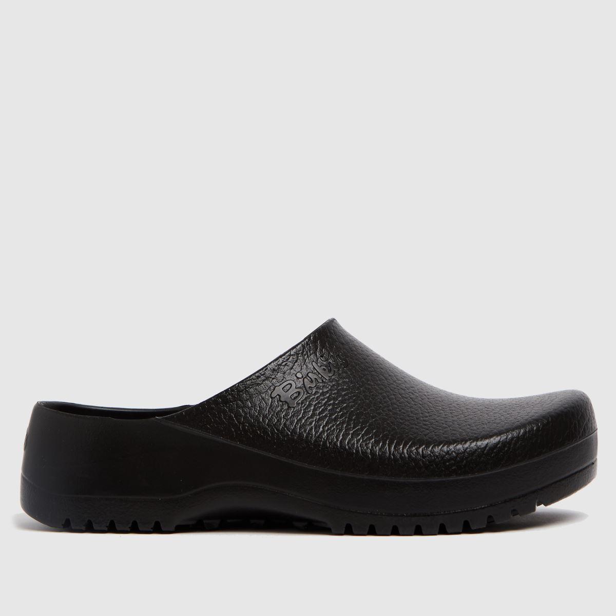 BIRKENSTOCK Black Super Birki Clog Sandals