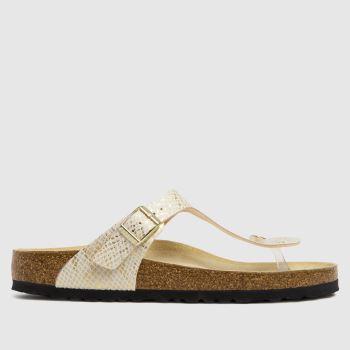 BIRKENSTOCK Natural Gizeh Womens Sandals