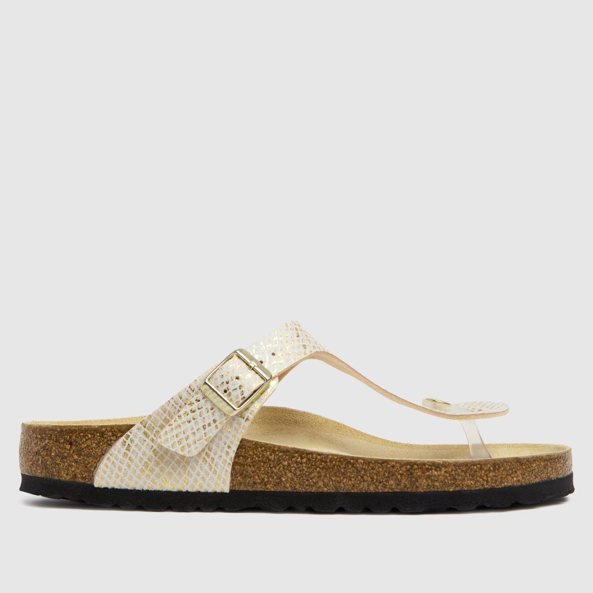BIRKENSTOCK Natural Gizeh Sandals