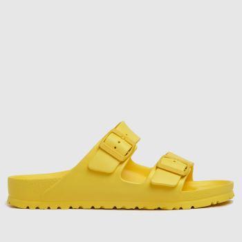 BIRKENSTOCK Yellow Arizona Eva Womens Sandals