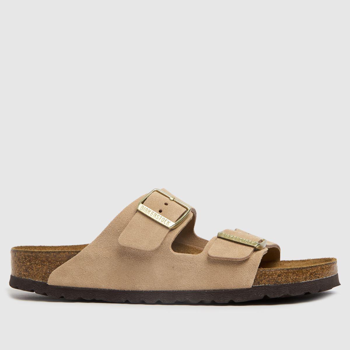 BIRKENSTOCK Natural Arizona Sandals