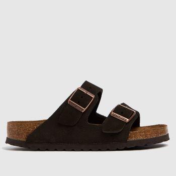BIRKENSTOCK Brown Arizona Womens Sandals