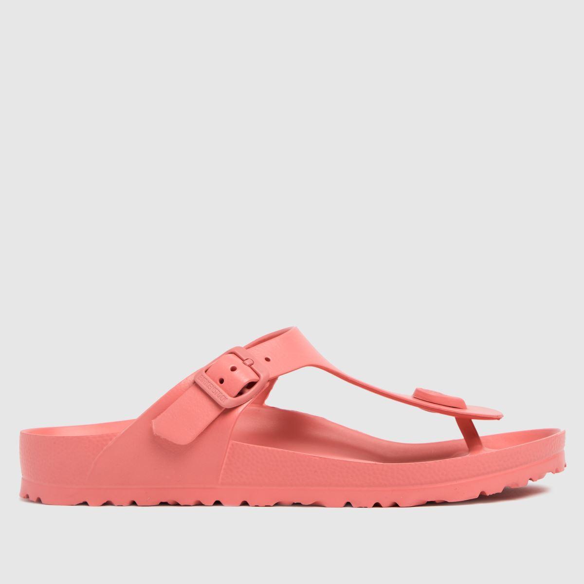 BIRKENSTOCK Pale Pink Gizeh Eva Sandals