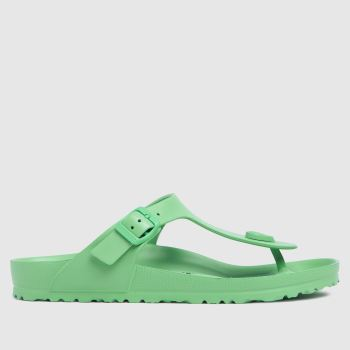 BIRKENSTOCK Light Green Gizeh Eva Womens Sandals