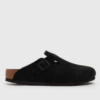 BIRKENSTOCK Black Boston Womens Sandals