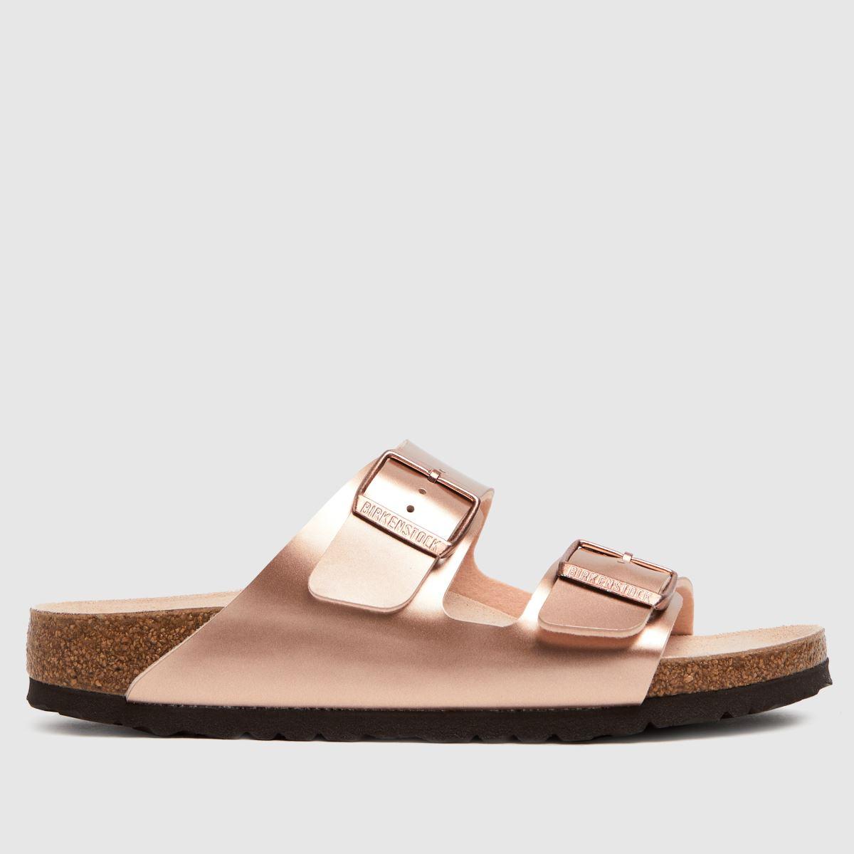 BIRKENSTOCK Bronze Arizona Sandals