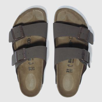 Birkenstock Brown Arizona Womens Sandals#