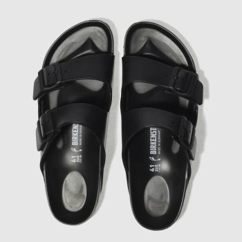 Birkenstock Black Arizona Eva Womens Sandals#