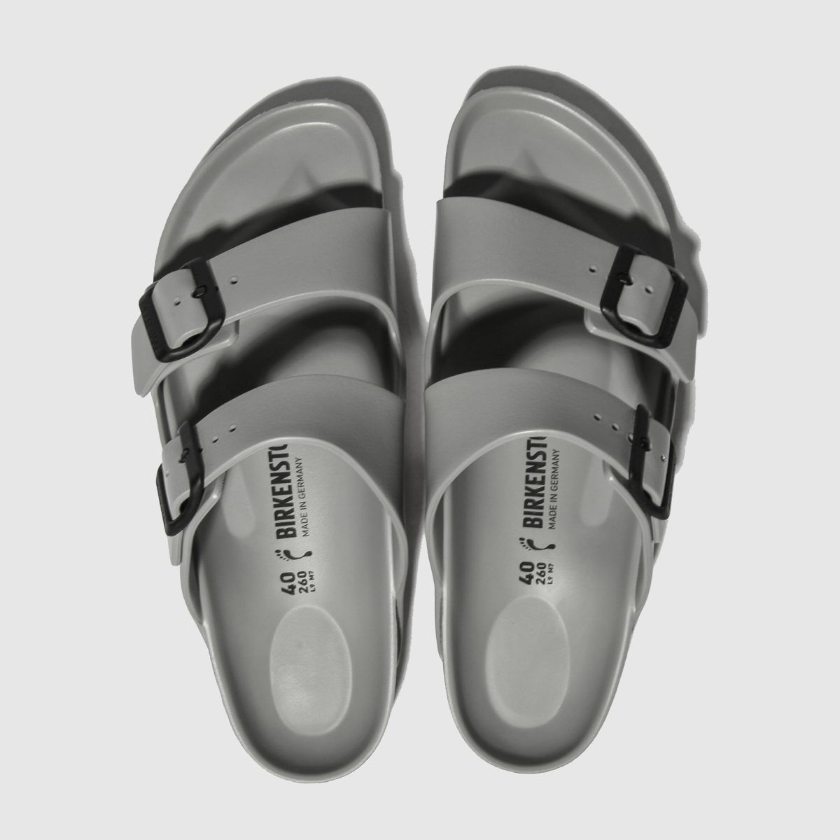 Birkenstock Grey Arizona Eva Sandals