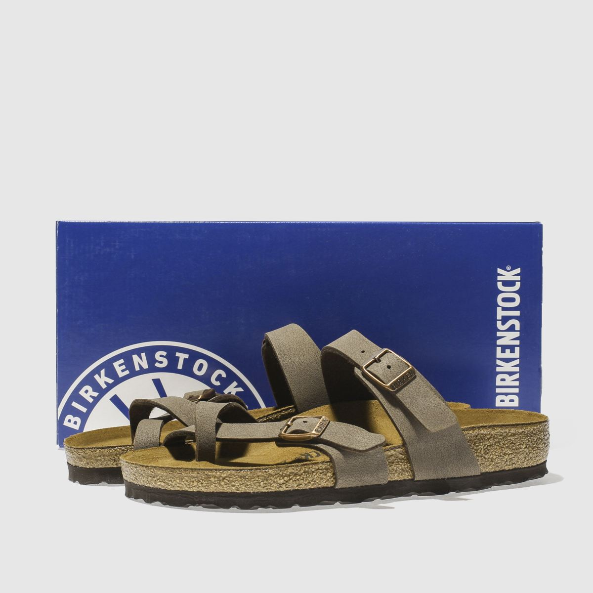 Damen Braun birkenstock Mayari beliebte Sandalen | schuh Gute Qualität beliebte Mayari Schuhe 810828