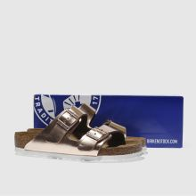 Birkenstock arizona soft footbed metallic 1