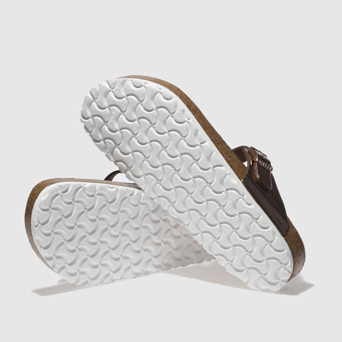Damen Bronze birkenstock Gizeh Gute Metallic Sandalen | schuh Gute Gizeh Qualität beliebte Schuhe 1d3c22