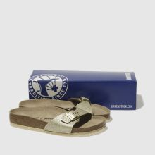 Birkenstock madrid washed metallic 1