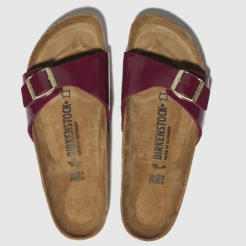 Birkenstock Burgundy Madrid Womens Sandals
