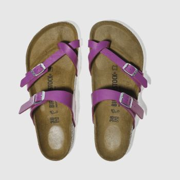 Birkenstock Purple Mayari Womens Sandals