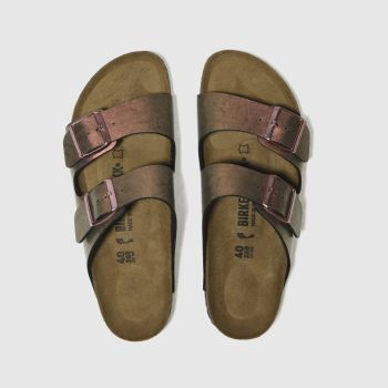 Birkenstock Pink Arizona Graceful Gemm Womens Sandals