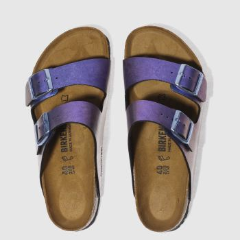 Birkenstock Purple Arizona Graceful Gemm Womens Sandals