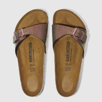 BIRKENSTOCK PINK MADRID GRACEFUL GEMM SANDALS