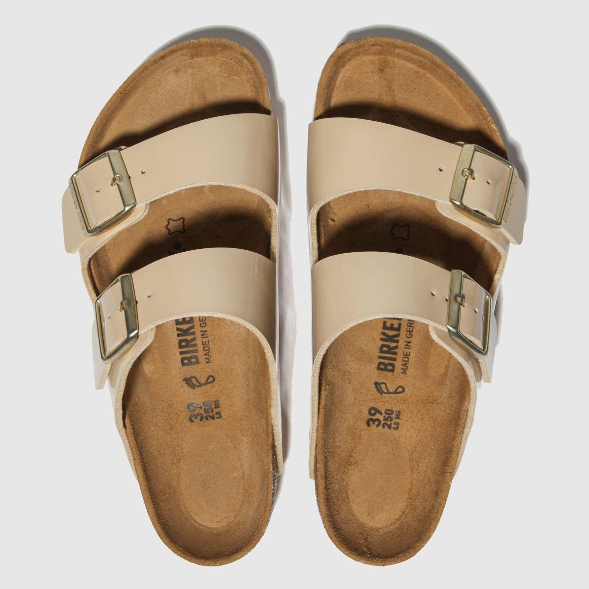 Birkenstock Stone Arizona Patent Sandals
