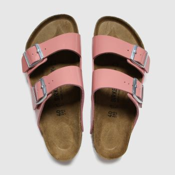 Birkenstock Pink Arizona Patent c2namevalue::Womens Sandals