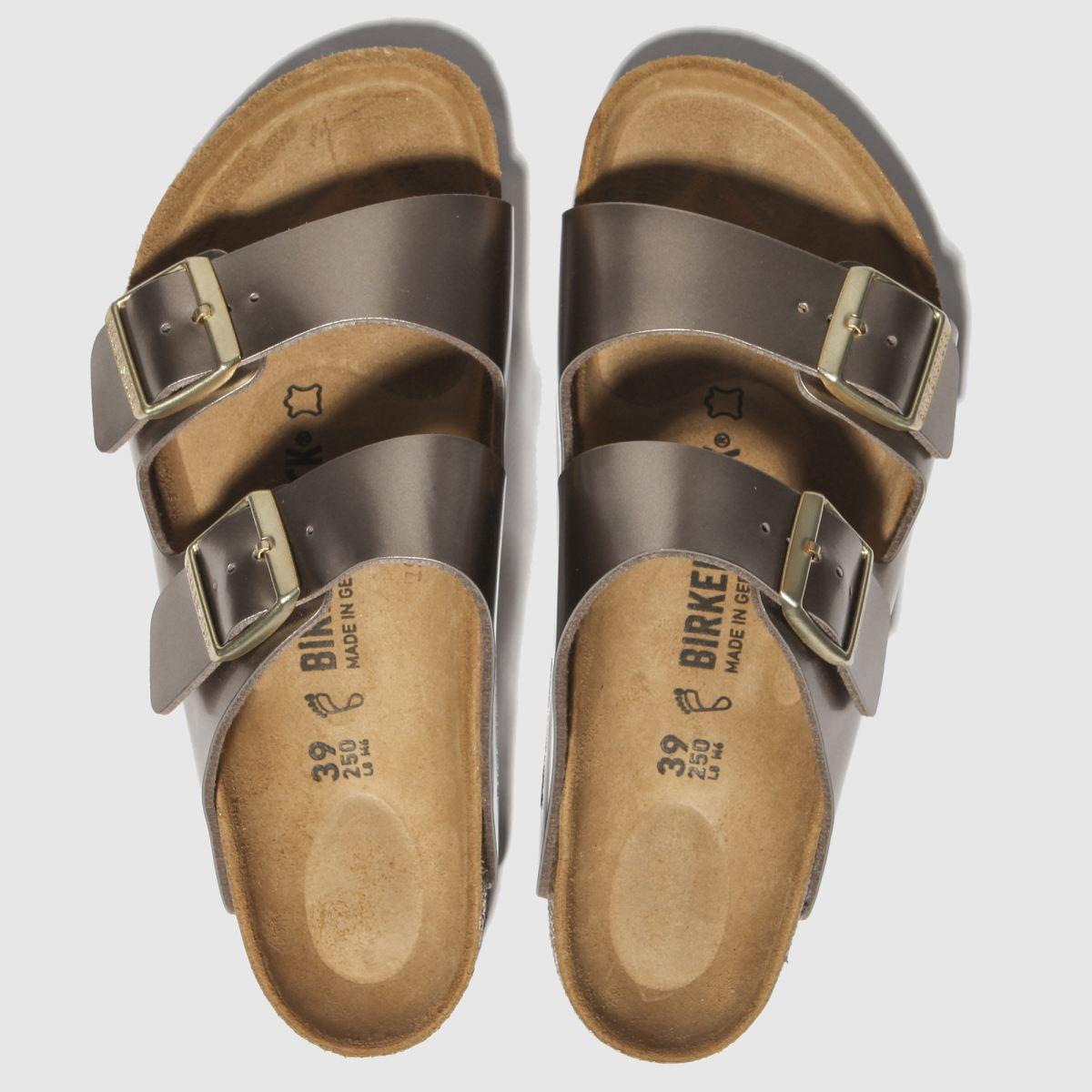 Birkenstock Bronze Electric Metallic Sandals