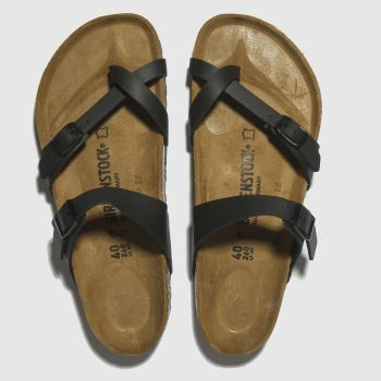 Birkenstock Black Mayari Womens Sandals#