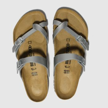 bdcce35c1b35 Birkenstock Silver Mayari Womens Sandals