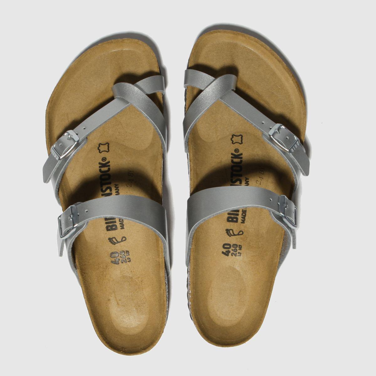 Birkenstock Silver Mayari Sandals