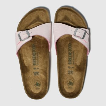 Birkenstock Pink Madrid Vegan Womens Sandals