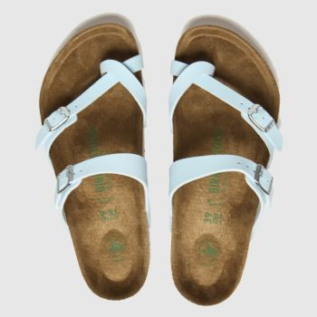 Birkenstock Blue Mayari Vegan Womens Sandals