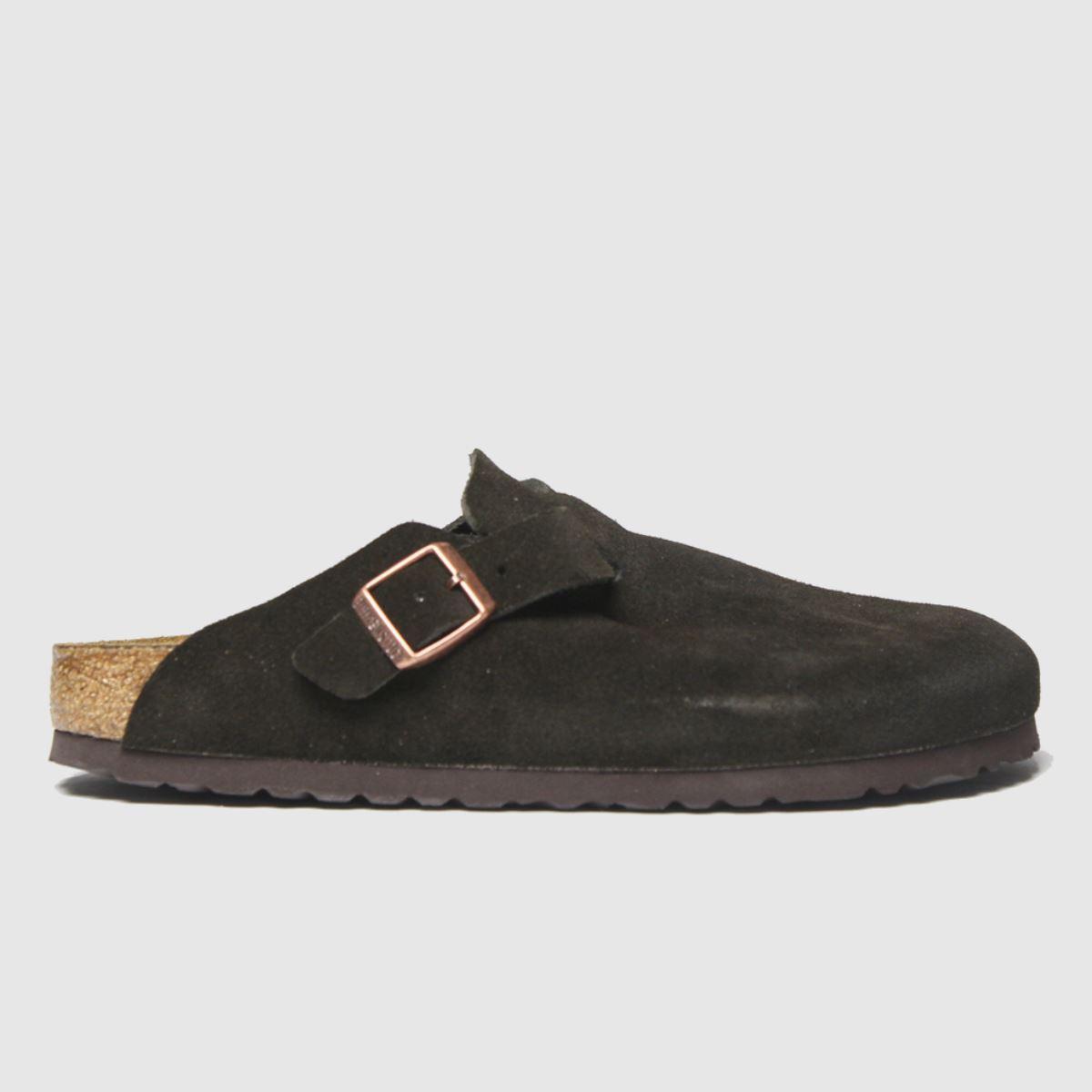 Birkenstock Brown Boston Sfb Sandals