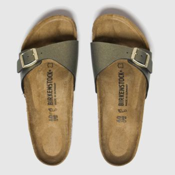 Birkenstock Gold Icy Metallic Madird Womens Sandals