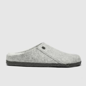 Birkenstock Grey Zermatt Shearling Slipper Womens Slippers