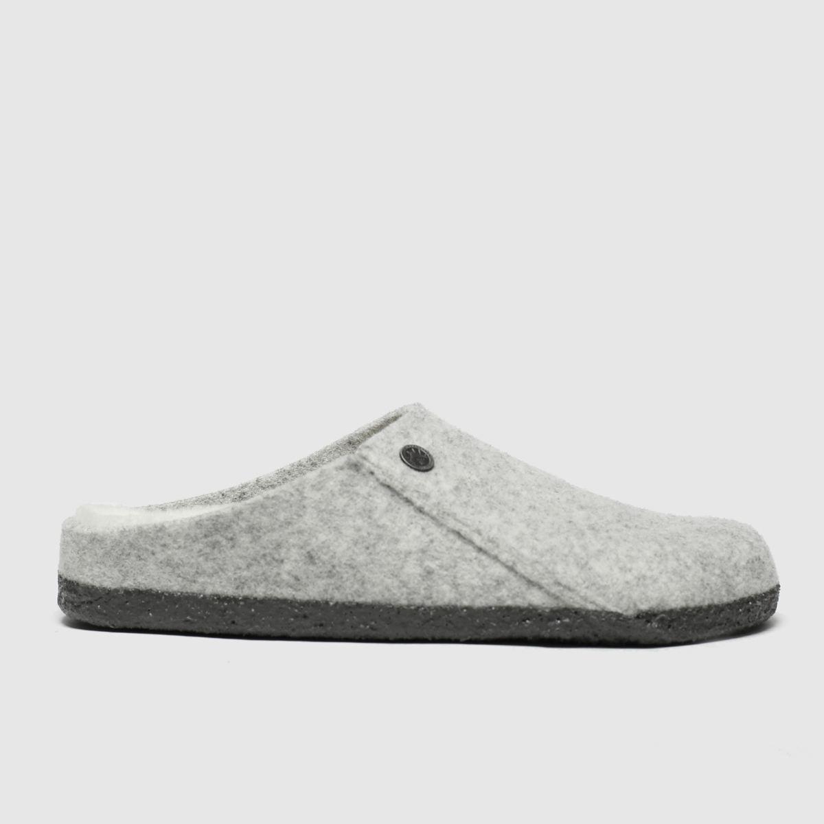 Birkenstock Grey Zermatt Shearling Slipper Slippers